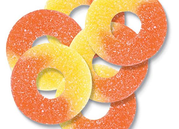 Peach Rings 1/4 pound