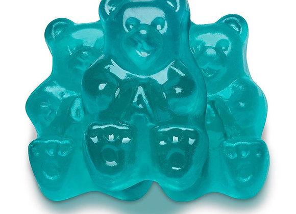 Blue Raspberry Bears 1/4 pound