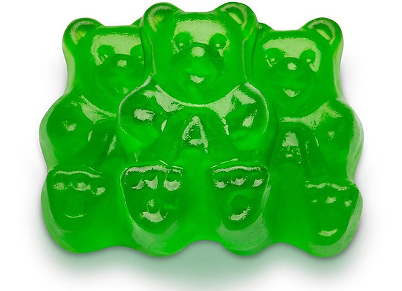 Green Apple Bears 1/4 pounds