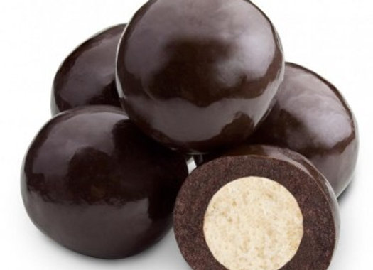 Dark Chocolate Triple Dipped Malt Balls 1/4 pounds