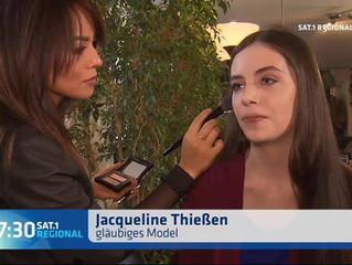 Sat1 Hair-& Make-up Styling Gntm Jacqueline Thießen