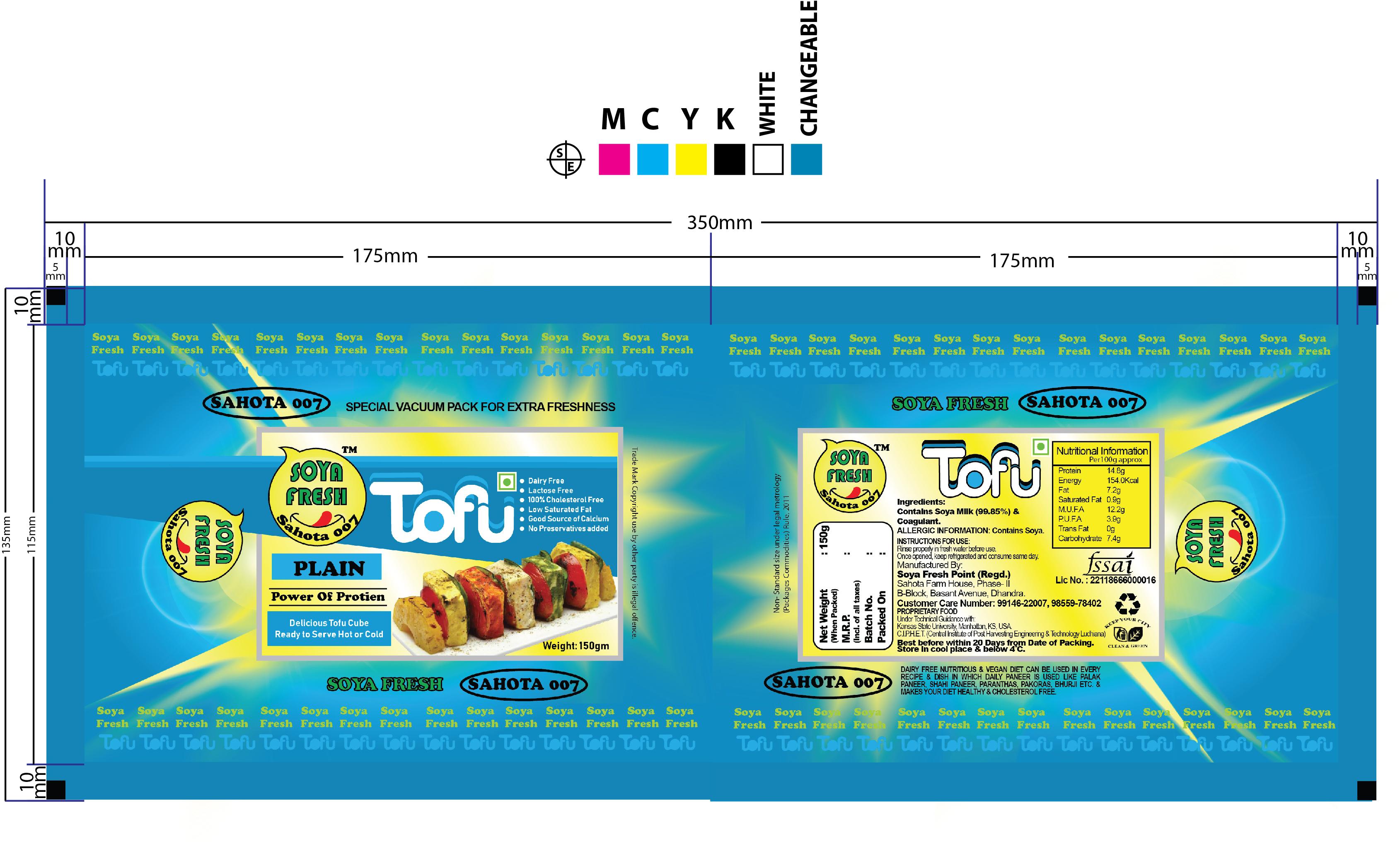 Vegan Soya Tofu