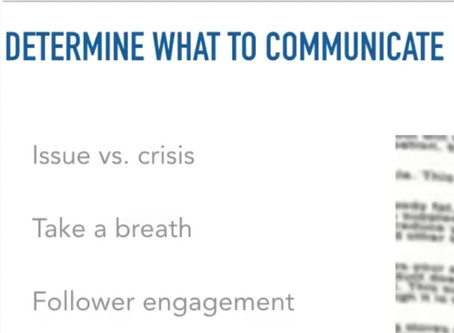 Communicating through the COVID-19 crisis