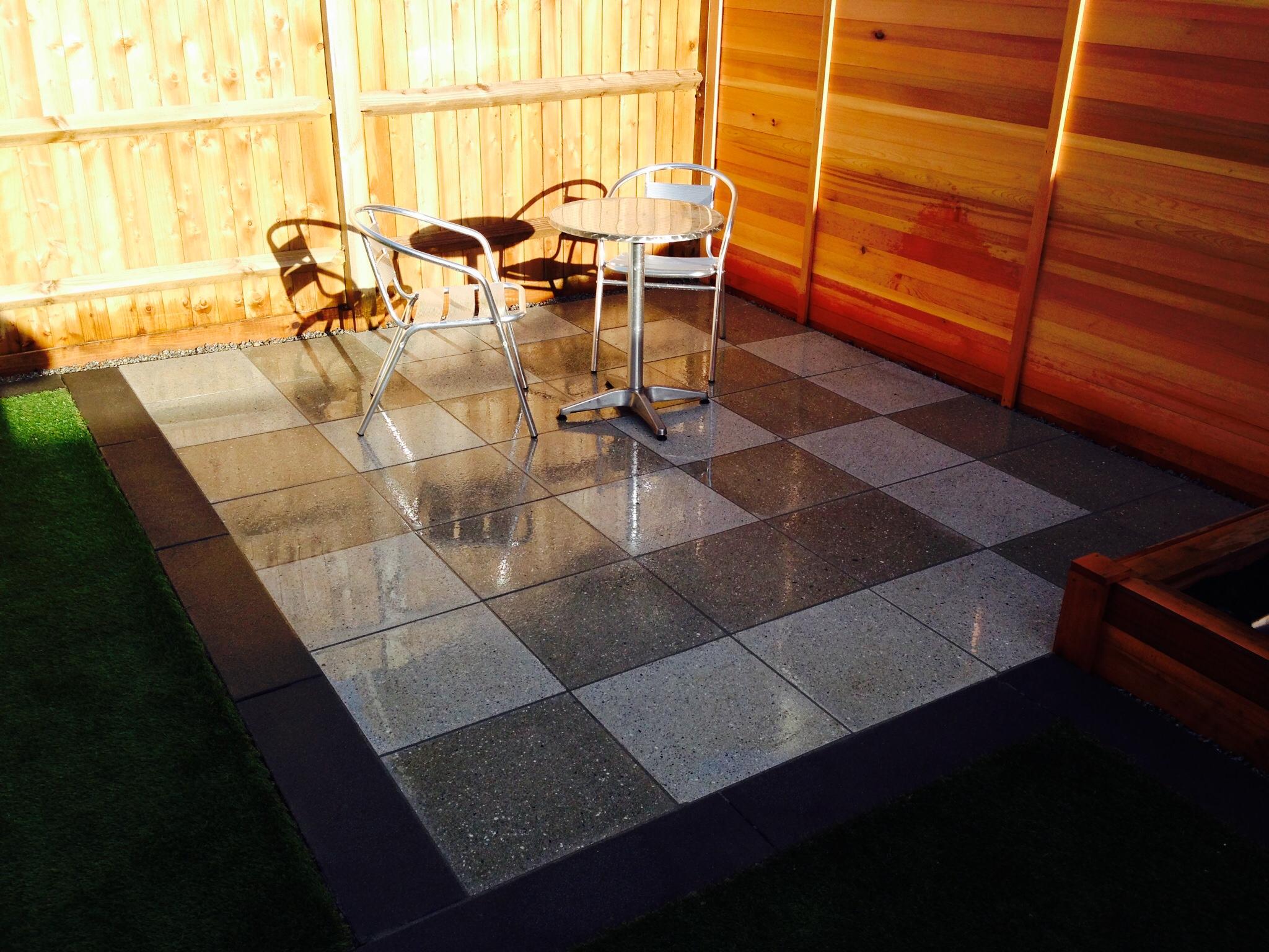 smaller patio bradstone panache