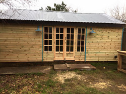 Updating a tired outbuilding
