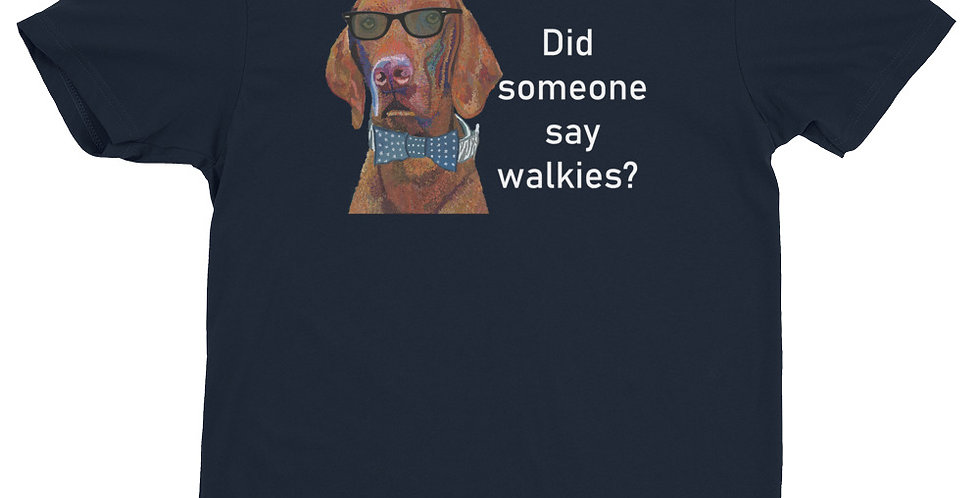 Did someone say walkies? - Viszla Art