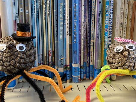 Children's Story: Who's Been In The Library?
