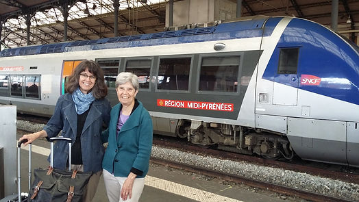 Travel tips, train travel in France.
