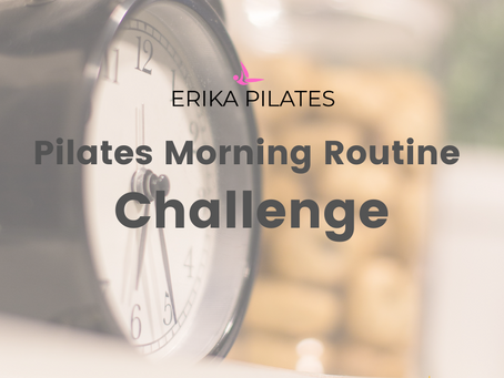 Pilates Morning Routine Challenge.