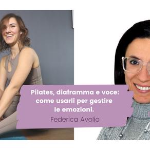 Pilates, diaframma e voce: impara a usarli per gestire le emozioni.