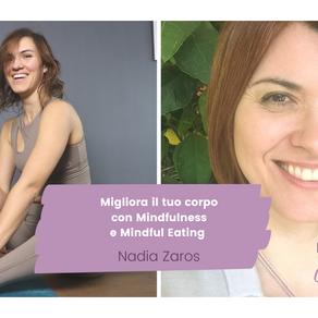 Migliora il rapporto con tuo corpo con  Mindfulness e Mindful eating