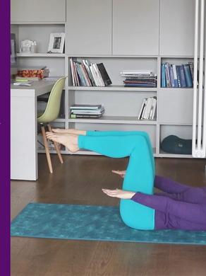 20 Minuti - Lezione di Pilates Total Body - Livello Intermedio.