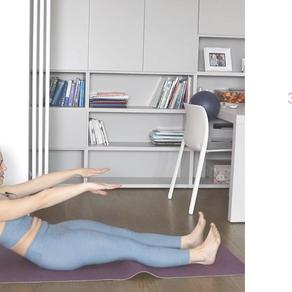 Tutorial: 3 step per fare il Pilates Roll Up correttamente.