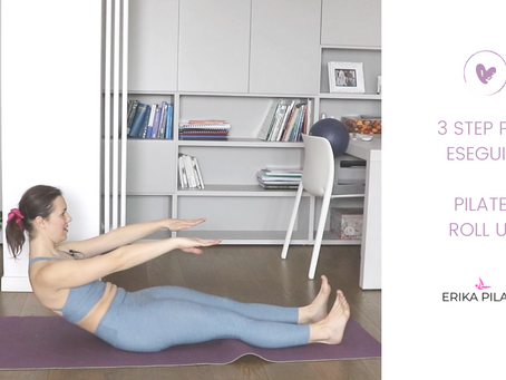 Tutorial: 3 step per fare il Pilates Roll Up correttamente.