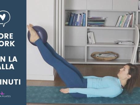 Pilates - Core Workout con la palla (12 minuti)