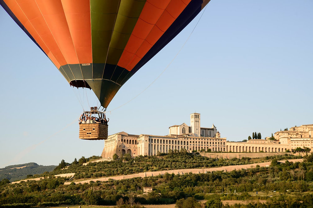volo in mongolfiera Assisi