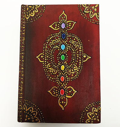 Chakra Clearing Notebook A5   Plain Paper