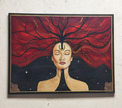 Inner Wild Fire 65cm x 80cm  Original Painting