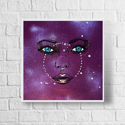 "Purple Haze | 12"" x 12"" Print"