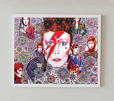 David Bowie Print | A4 & A3 Size