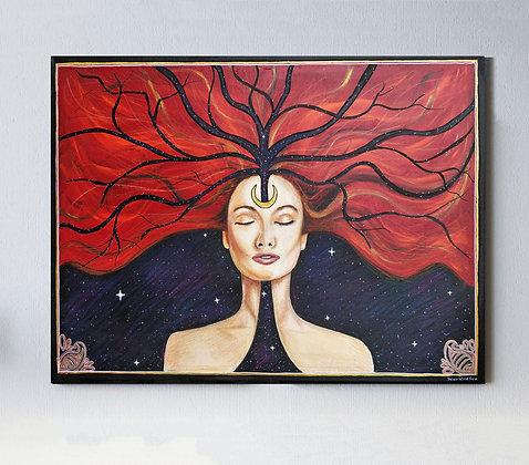"Inner Wild Fire 25"" x 32"" Original Painting"