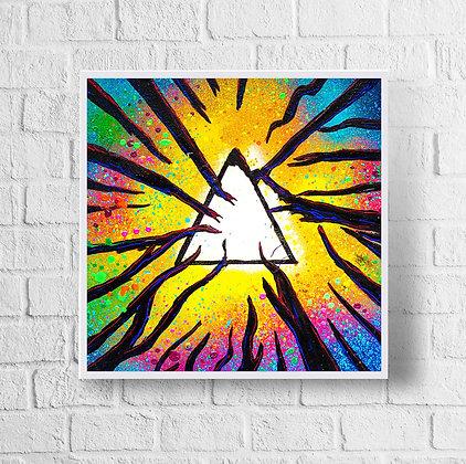 "Pink Floyd | 12"" x 12"" Print"