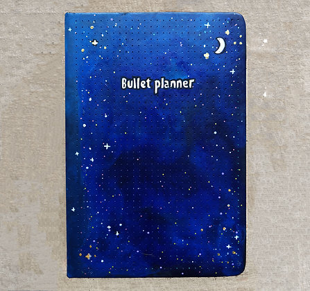 Star Bullet Planner A5 | Dotted Paper | Free Customisation