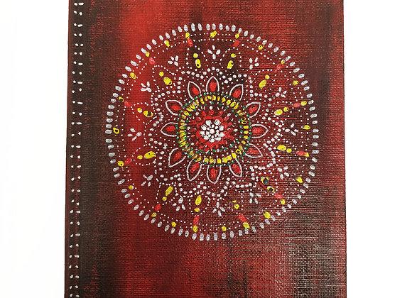 Mandala Notebook A5   Plain Paper