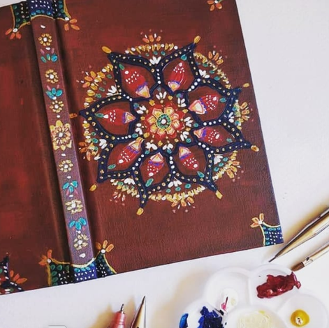 Paint A Mandala Notebook