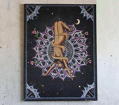 "Wild One 31"" x 23"" Original Painting On Canvas"