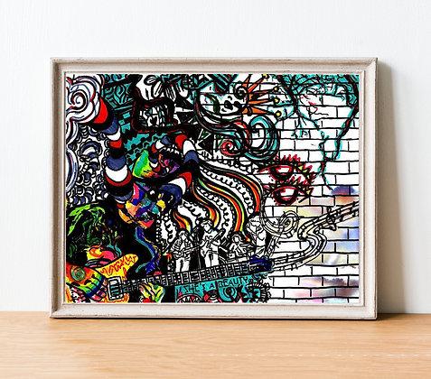 Santana Print | A4 & A3 Size