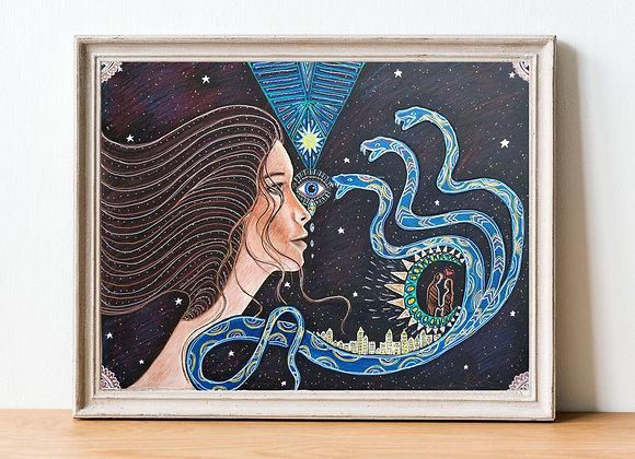 Spiritual Awakening Print | A4 & A3 Size