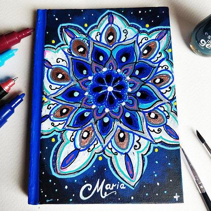 Custom Hand Painted A5 Journal