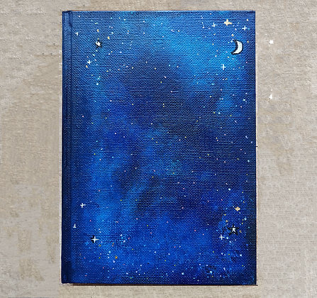 Star Notebook A5   Lined Paper   Free Customisation