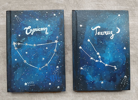 Star Sign Notebook A6