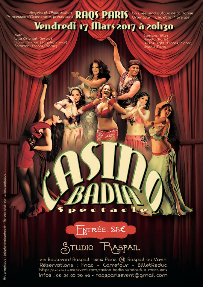 Spectacle de danse Casino Badia