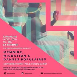 PoP Moves Perspectives danseurs