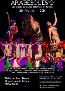 Show Sukaïna Danse orientale