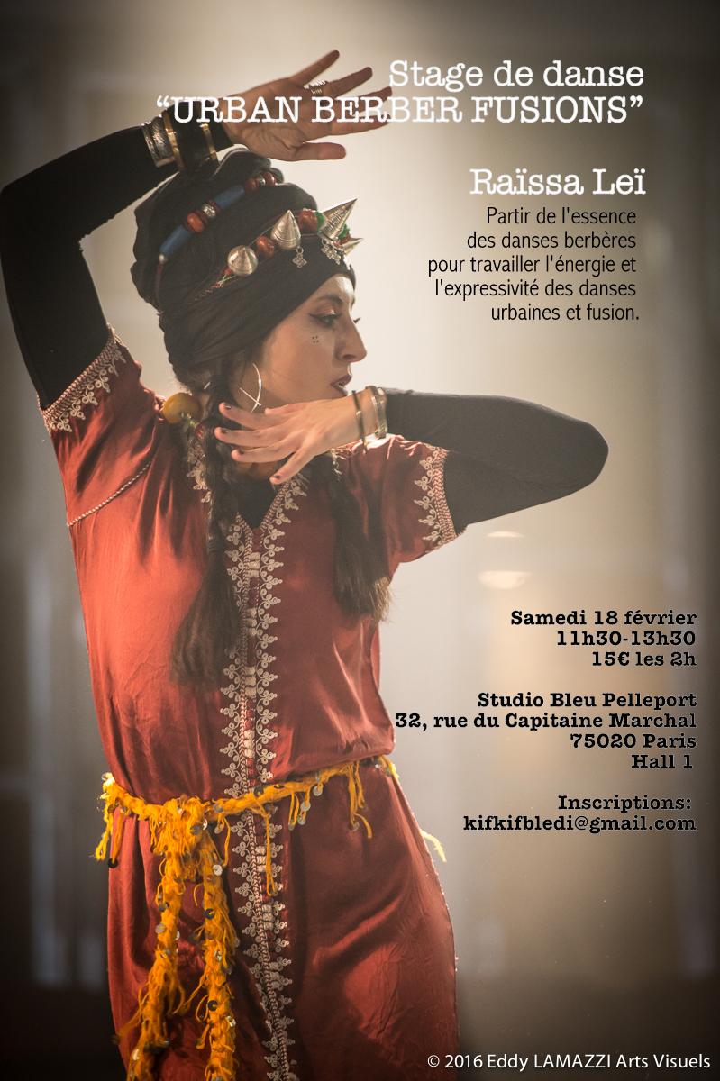 Stage Urban Berber Fusion 18fev