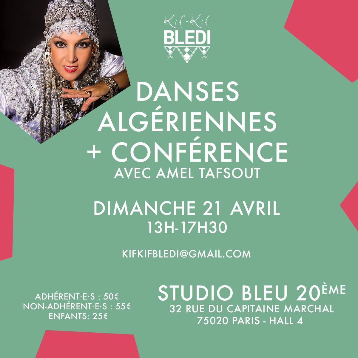 Stage danse algérienne Amel Tafsout