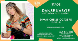 Stage danse kabyle