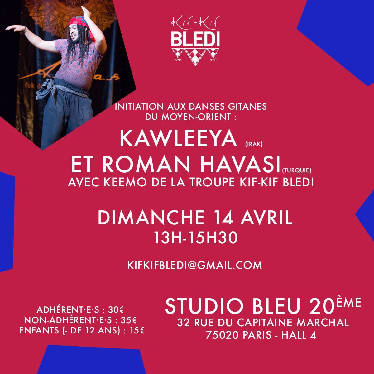Stage danses Kawleeya Roman Havasi