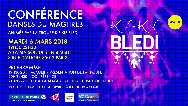Conférence dansée Maghreb