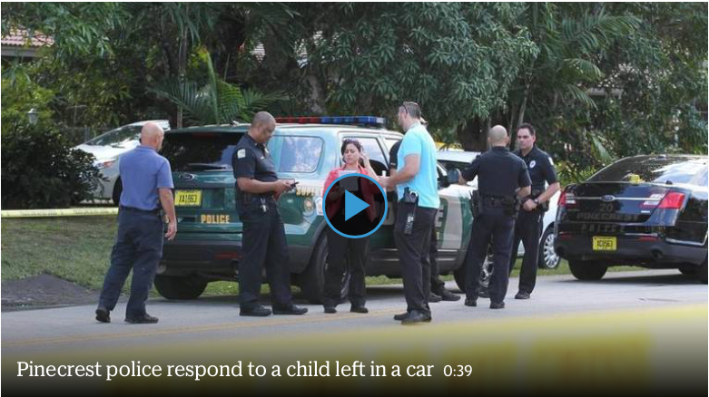 Pinecrest Police investigating baby heat stroke