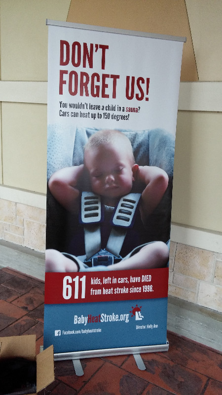 These numbers are all WRONG!  Since this poster was printed, another 92 children have died from baby
