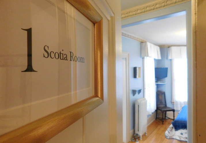 Welcome to the Scotia Room
