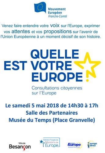 La première Consultation citoyenne de Besançon...