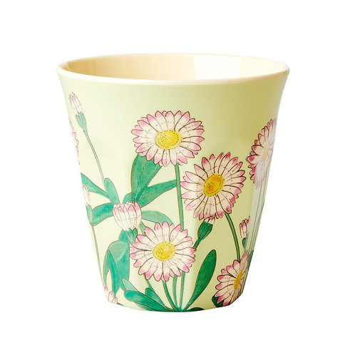 Medium Melamine Becher - Daisy Print