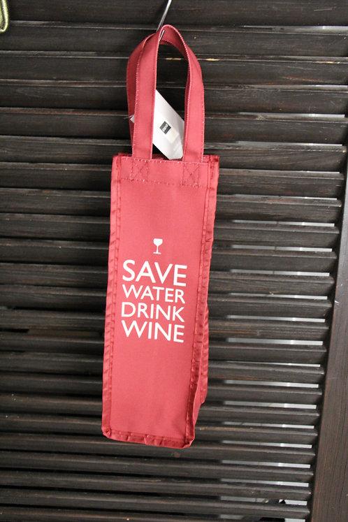 Flaschen Tasche Save Water