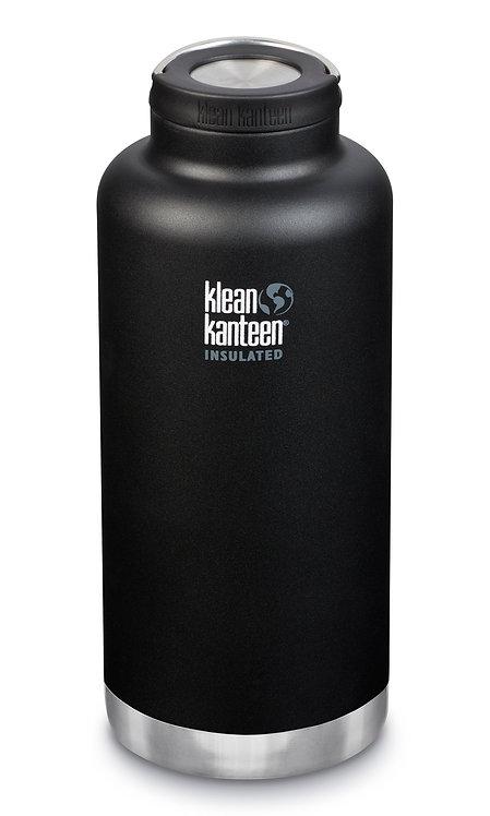 Edelstahl Isolierflasche TKWide 1900ml Loop Cap Schwarz